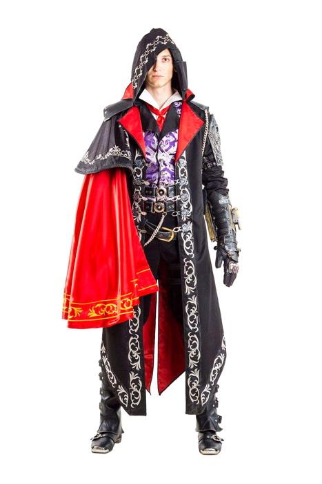 Костюм для героя Assassin Creed моя вышивка гладью