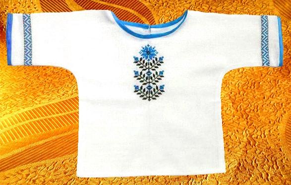Крестильная рубашечка