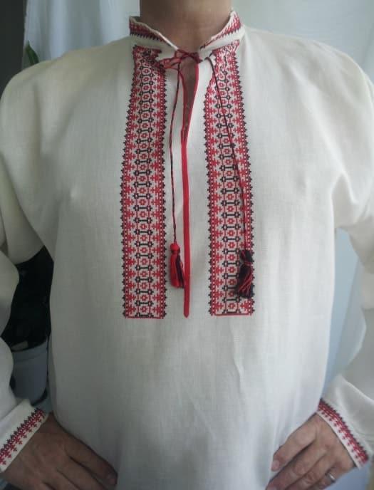 Сорочка древнеславянская с длинным рукавом
