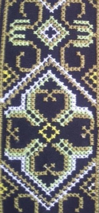 Старославянский орнамент для мужской сорочки
