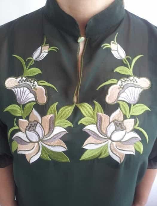 Блуза ''Лотос''