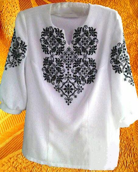 Блуза ''Солнцеворот''