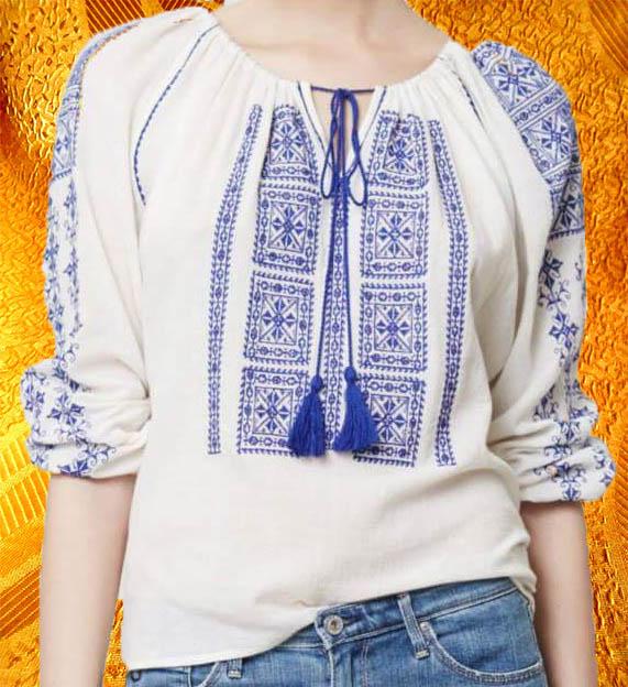 Блуза ''Ультрамарин''