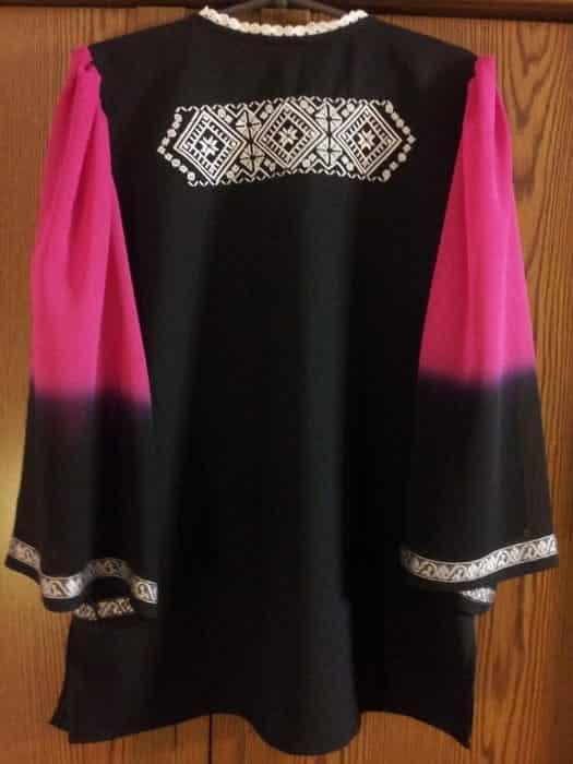 Блуза ''Восточная'' (спинка)
