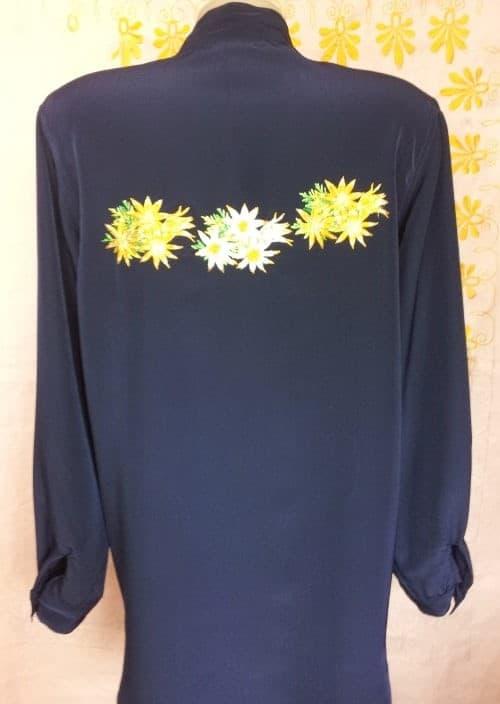 Блуза рубашечного типа (спинка)