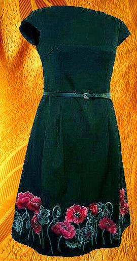 Платье ''Маки''