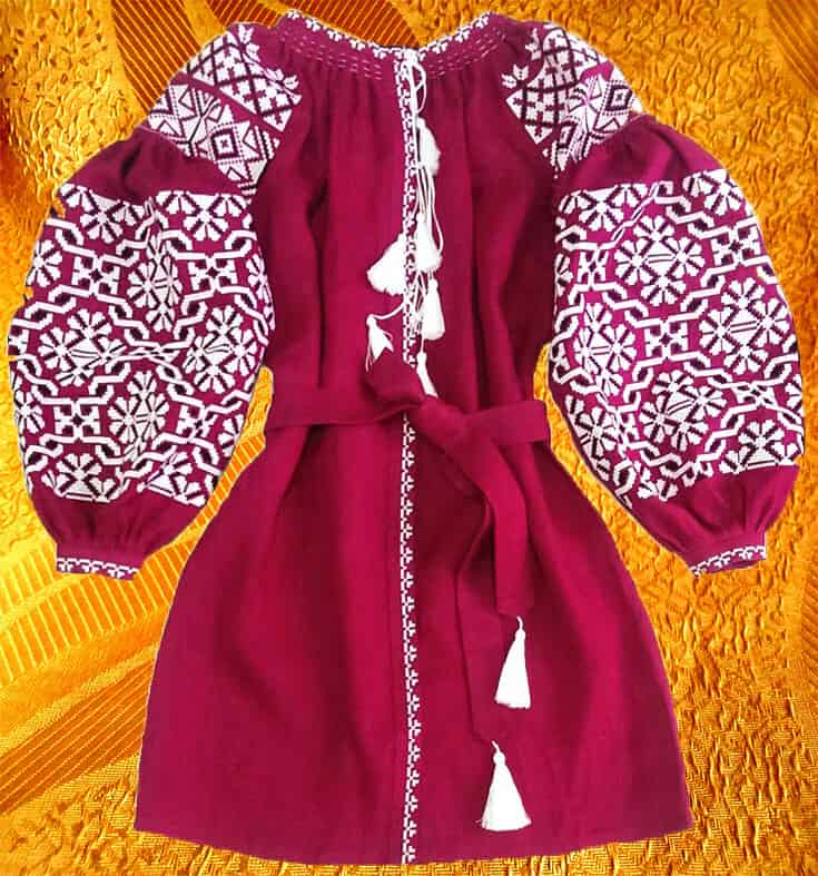 Платье ''Цепочка''