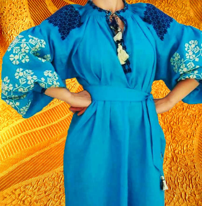 Платье ''Васильки''
