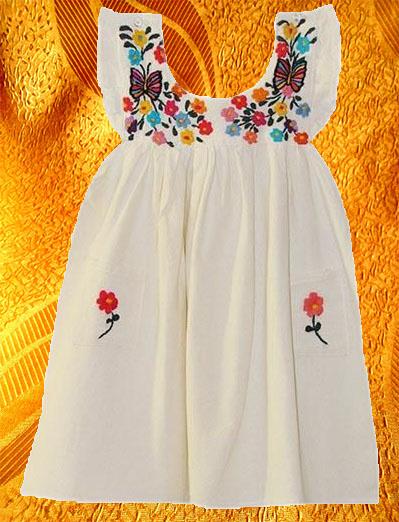 Платье для девочки ''Бабочки''