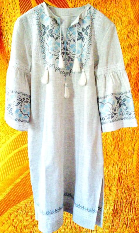 Платье для девочки ''Колокольчики''
