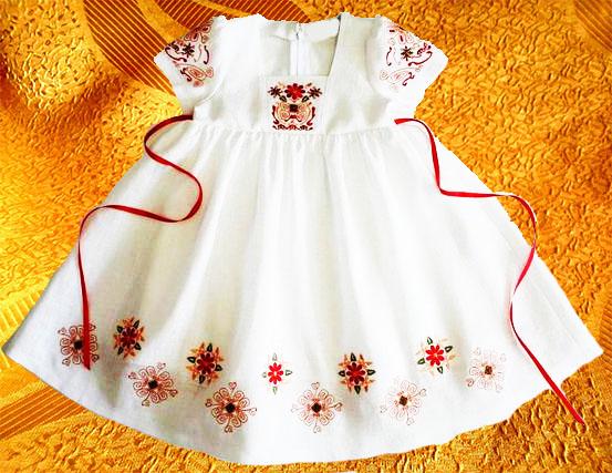 Платье для девочки ''Вазончик''