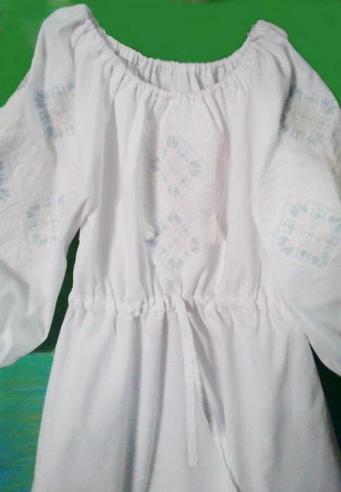 Платье на девочку ЕВА с пояском