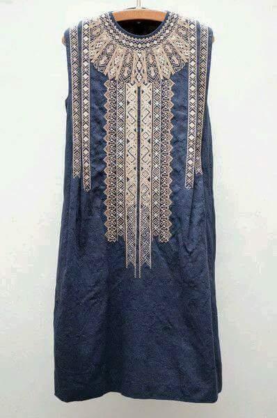 Платье в восточном стиле (длинное)