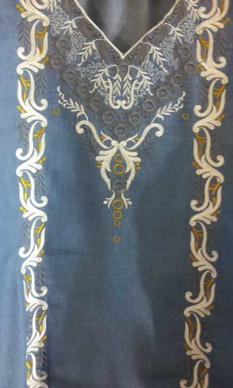 Платье в восточном стиле (перёд)