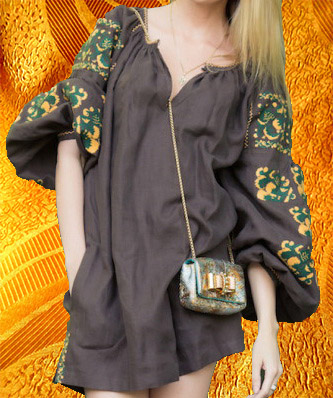 Платье. Фасон мини