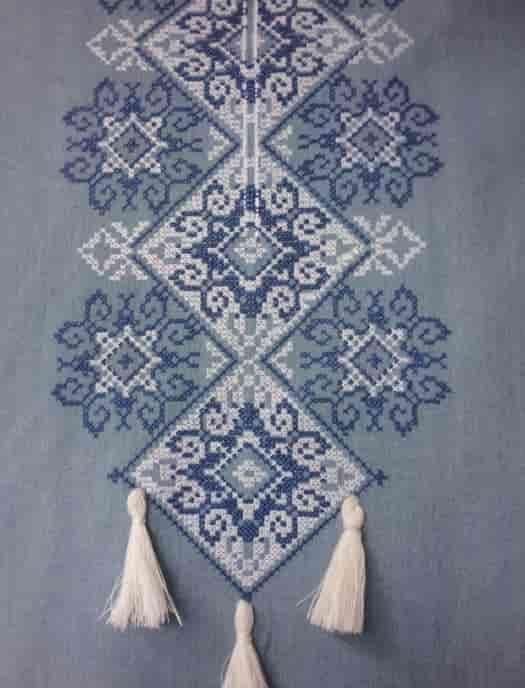 Сорочка ''Снежинка'' (пазуха)