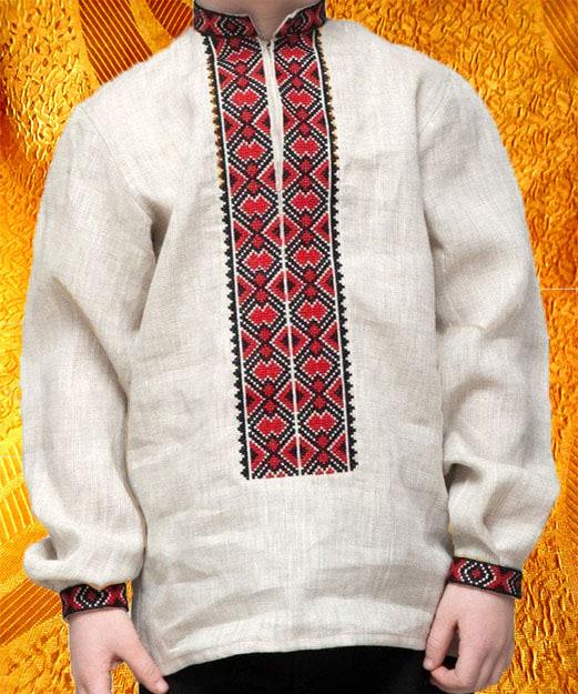 Сорочка для мальчика ''Богатырь''