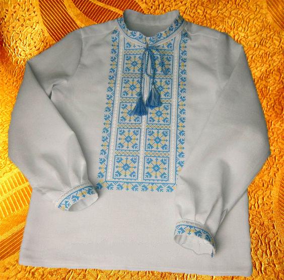 Сорочка для мальчика ''Национальная''