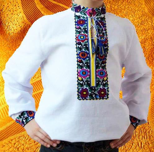 Сорочка для мальчика ''Удача''