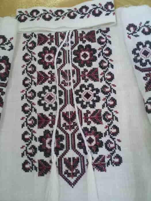 Сорочка традиционная Космачская (пазуха)