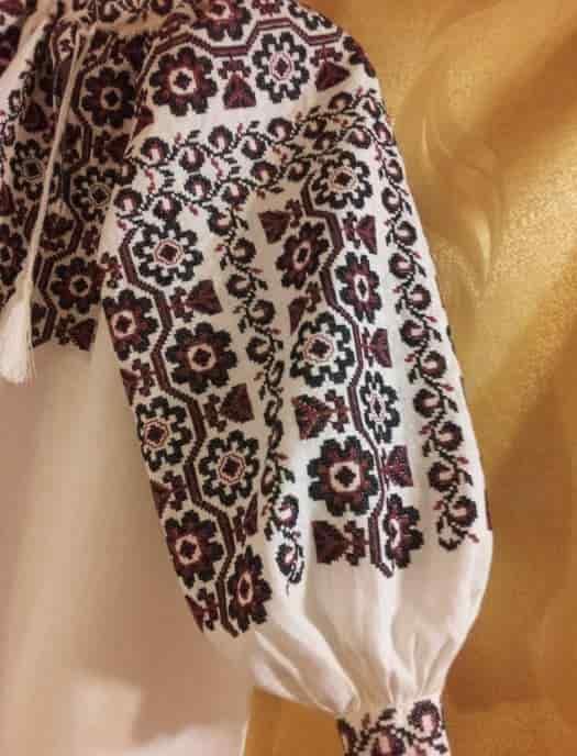 Сорочка традиционная Космачская (рукав)