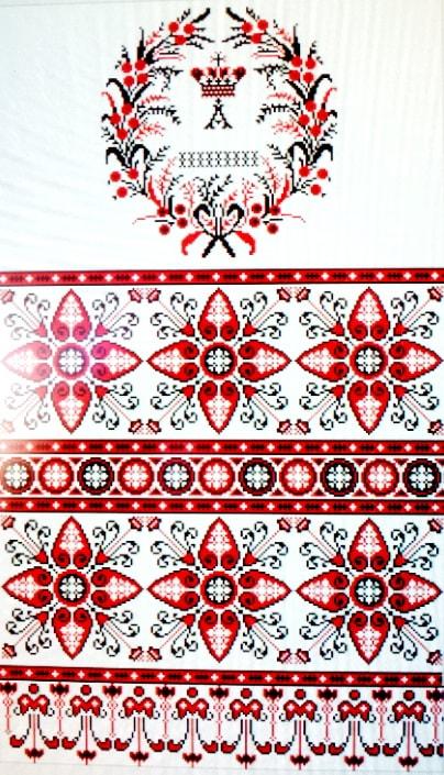 Свадебный рушник 1