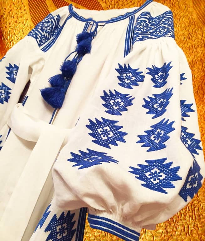 Платье этническое