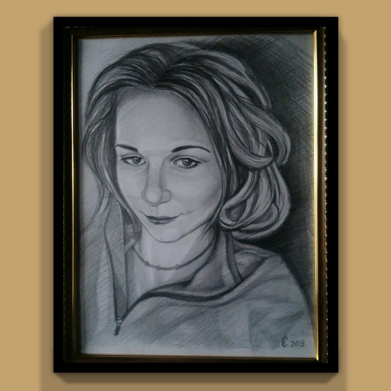 Рисунок. Девушка