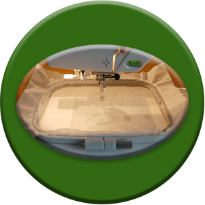 Изготовление изделия мастером по вышивке