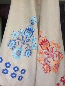 Заказать рушник с вышивкой Вазон