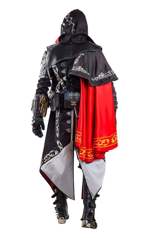 Костюм для героя Assassin Creed. Syndicate (вид сзади)