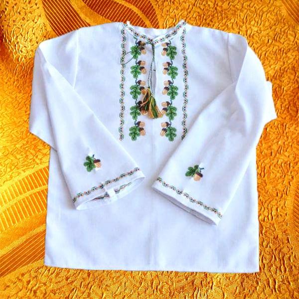 Крестильная сорочка для мальчика