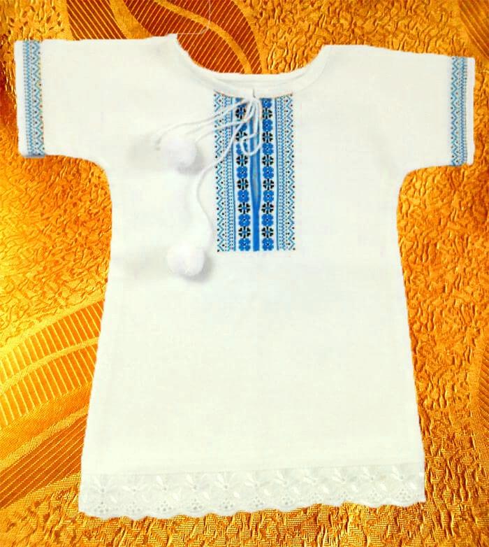 Крестильная сорочка для младенца
