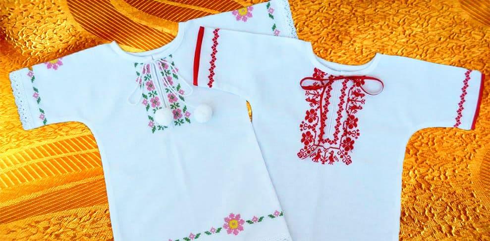 Крестильные платьица для девочек