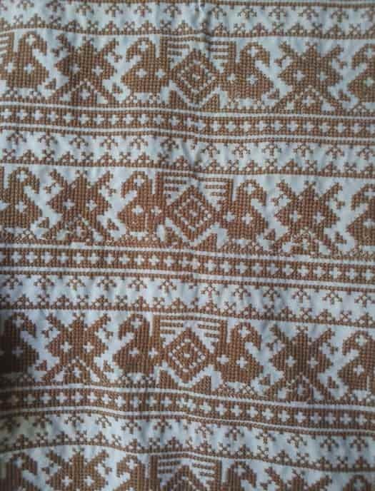 Орнамент для сорочки славянской
