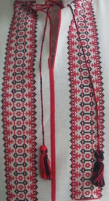 Орнамент древнеславянский для мужской сорочки