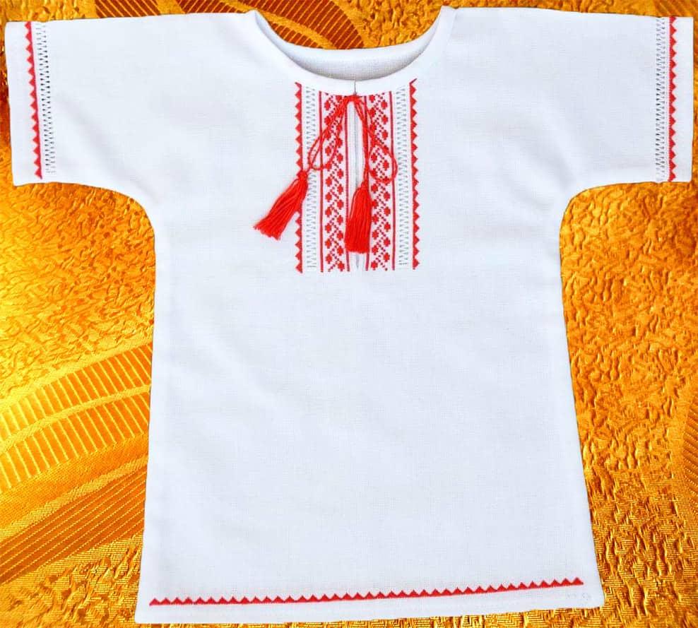 Сорочка крестильная ''Счастье''