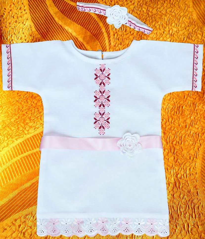 Сорочка крестильная для девочки ''Весна''