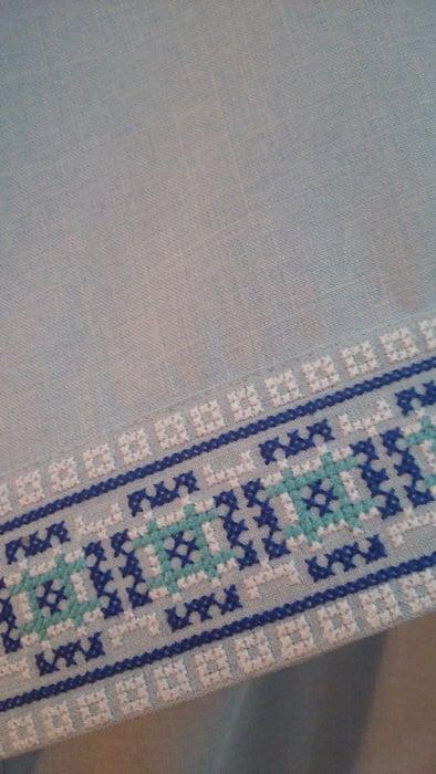 Сорочка мужская славянская с коротким рукавом (манжет)
