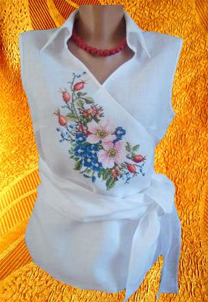 Блуза ''Шиповник''
