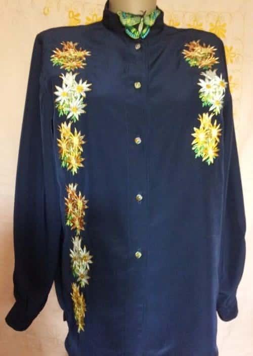 Блуза рубашечного типа