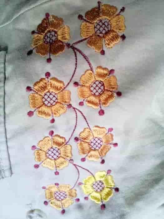 Орнамент на пиджак ''Вазон''