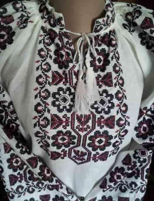 Пазуха сорочки ''Мальва''