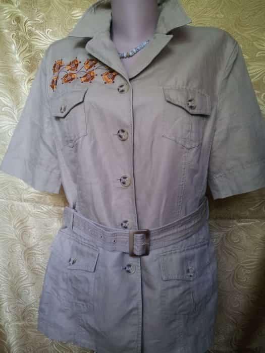 Пиджак ''Вазон'' с коротким рукавом