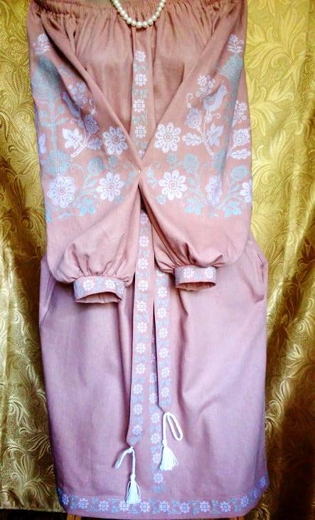 Платье ''Анастасия'' с орнаментом