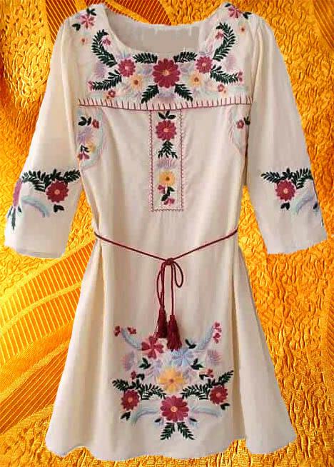 Платье ''Букет''