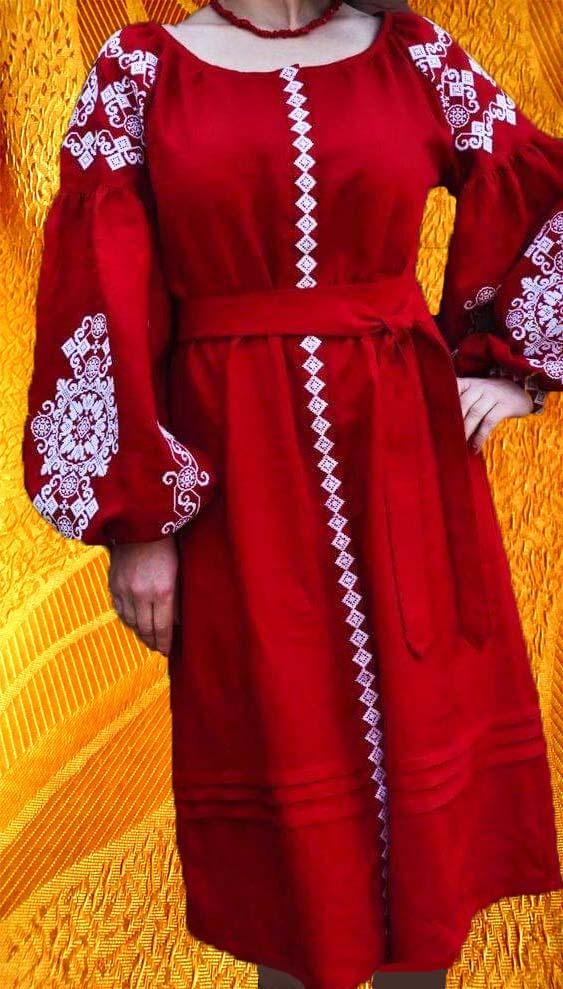 Платье ''Маковка''