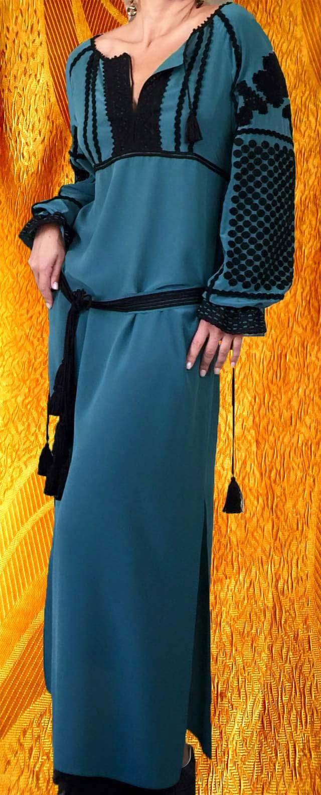 Платье ''Малахит''