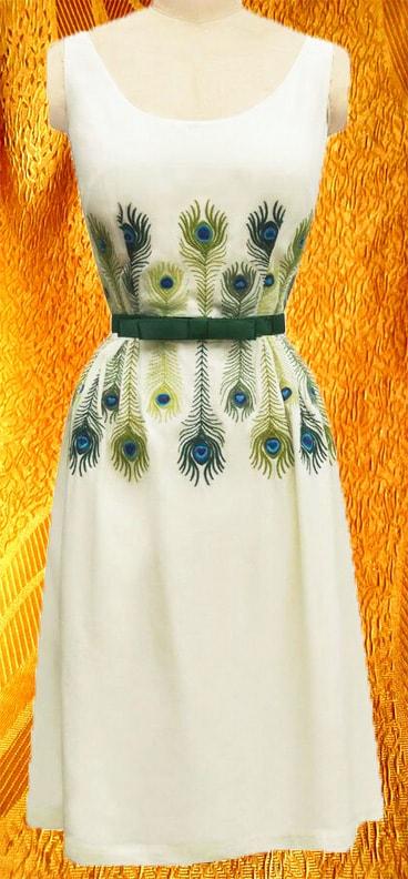 Платье ''Перышки''
