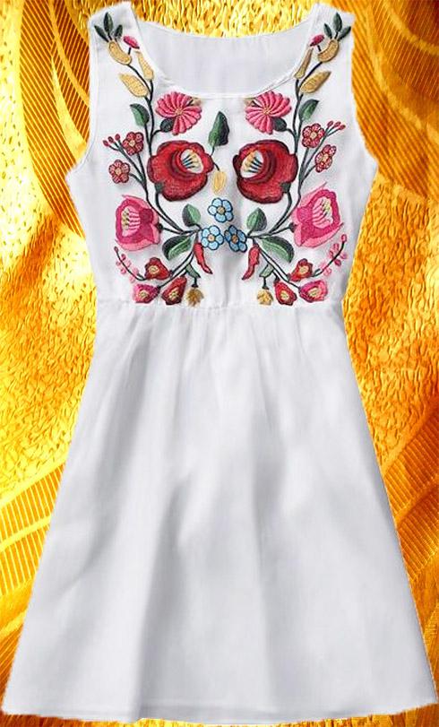 Платье ''Петрикивка''